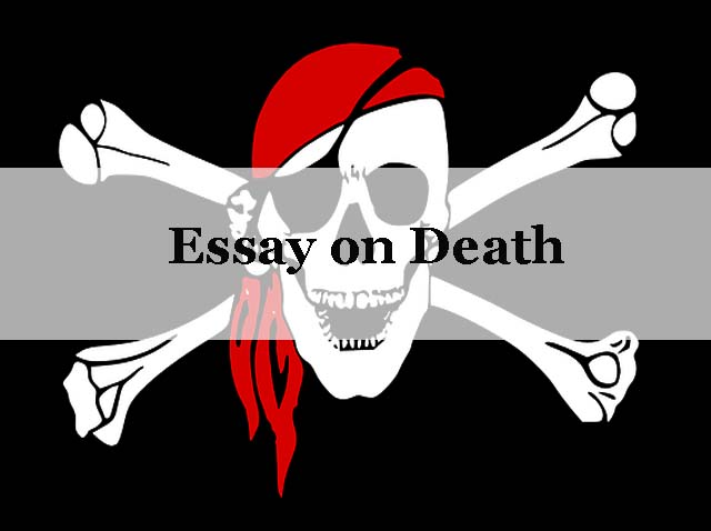 How to write an essay about death
