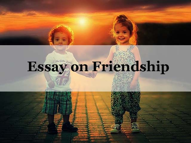 Essay on friend ship