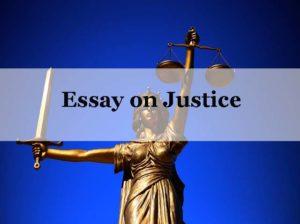 Essay on Justice