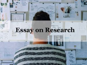 Essay on Research