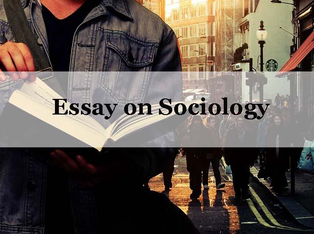 Essays on sociology