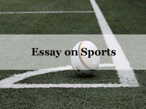 Essay on Sports