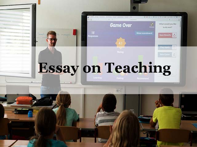 Essay on the topic education