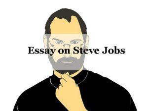 Essay on Steve Jobs